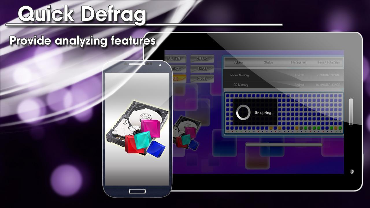 Quick Defrag HD FREE - screenshot
