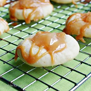 Caramel Apple Cookies.