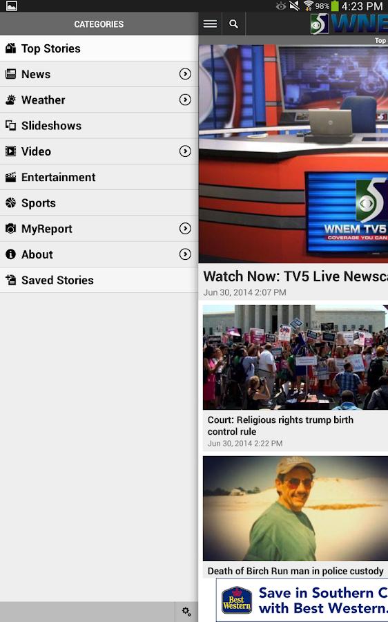wnem tv5 app