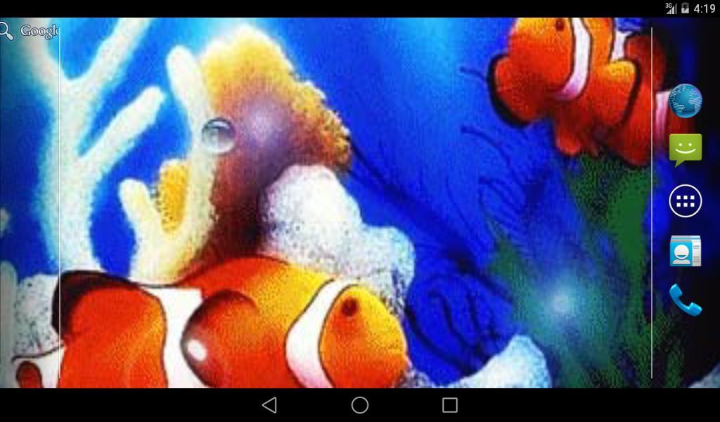 Bubbles Sea Live Wallpaper- screenshot