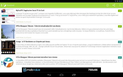 FrAndroid - screenshot thumbnail