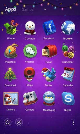 Happy New Year Launcher Theme для планшетов на Android