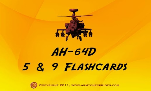 AH-64D Apache 5 & 9 Flashcards - screenshot thumbnail