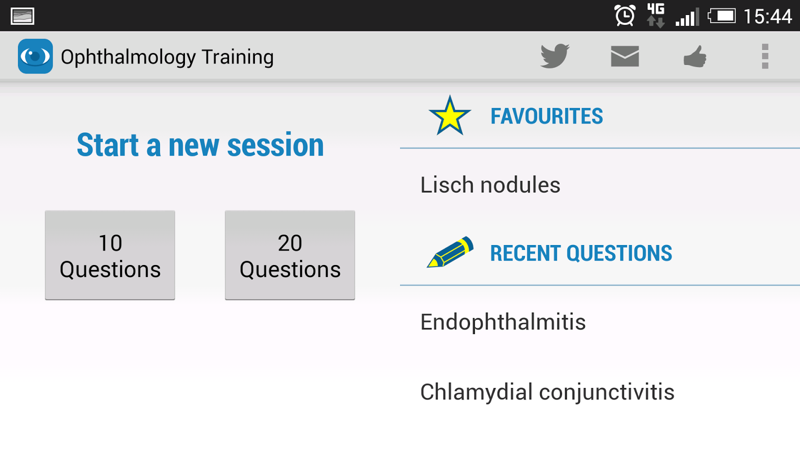 Ophthalmology Training- screenshot