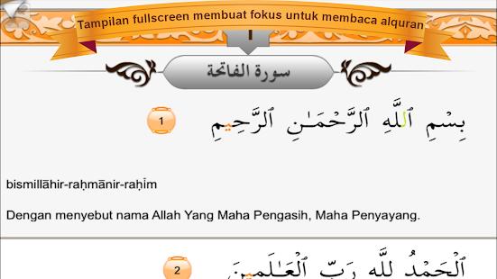 MyQuran Al Quran Indonesia Lit - screenshot thumbnail