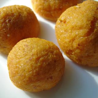Cheesy Sweet Potato Balls.