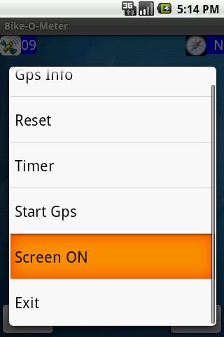 Bike-O-Meter- screenshot
