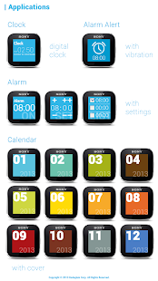 Clock Pack for SmartWatch