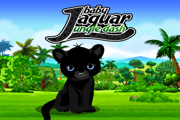 Baby Jaguar Cub Jungle Dash - screenshot