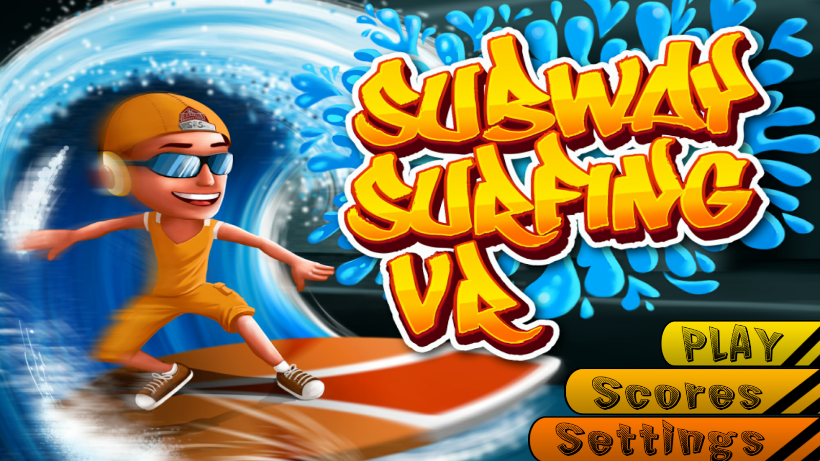 Subway Surfing VR – скриншот