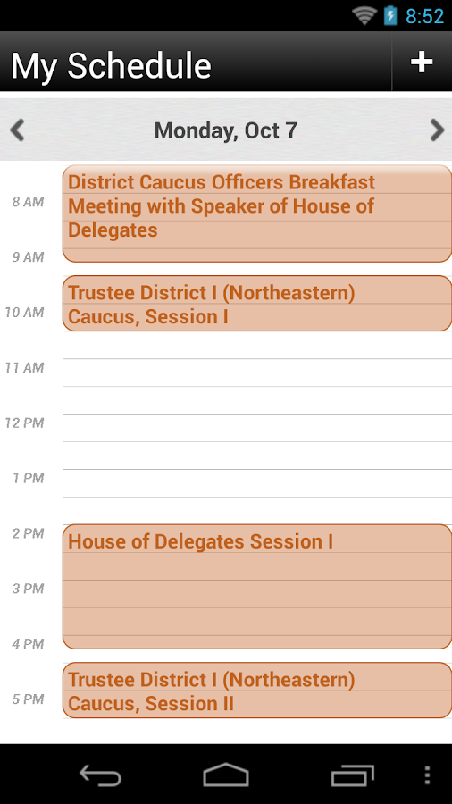 AAOMS 2013 Annual Meeting - screenshot