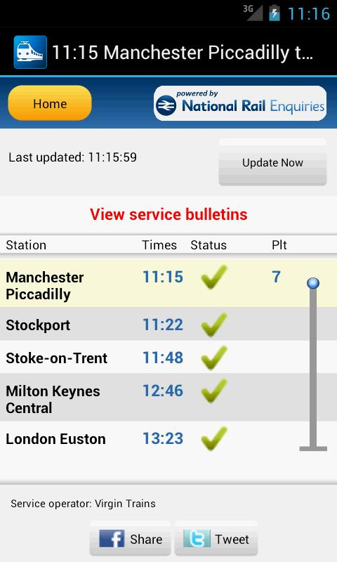 Rail Planner Live - screenshot