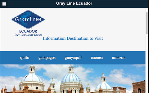 Gray Line Ecuador screenshot 2