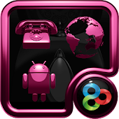 pink lounge GO Launcher theme