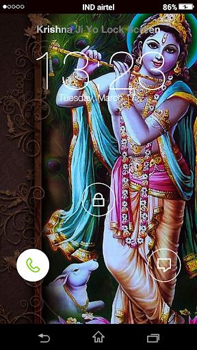 【免費個人化App】Krishna ji  Yo Locker HD-APP點子