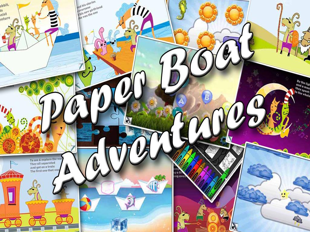 Paper Boat  Adventures - screenshot
