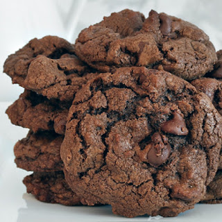 Double Chocolate Chip Cookie.