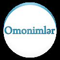 OMONİMLƏR LÜĞƏTİ