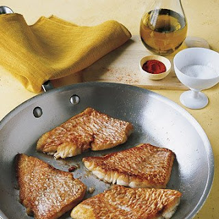 Sauteed Red Snapper.