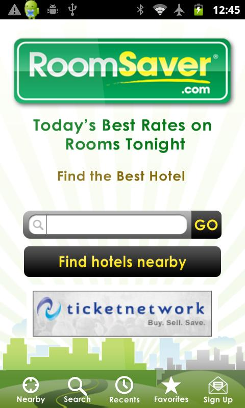 RoomSaver- screenshot