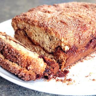 Gluten Free Cinnamon Swirl Banana Bread