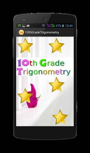 10th Grade - Trigonometry