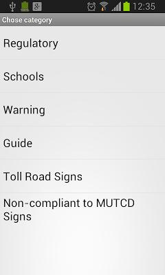 US Road Signs - screenshot