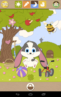 Schnuffel Bunny - Virtual Pet- screenshot thumbnail