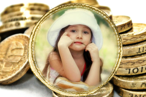 Coins Photo Frames