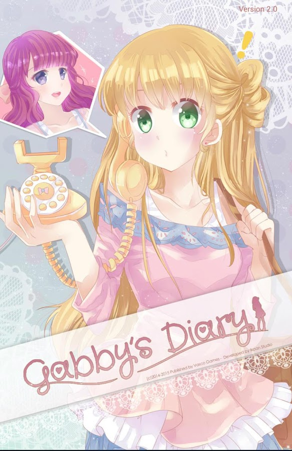 Gabby's Diary - Anime Dress Up- screenshot