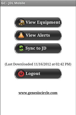 GC – JDL Mobile - screenshot