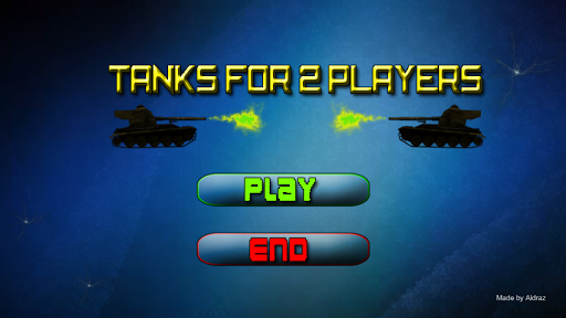 Tanks For 2 Players