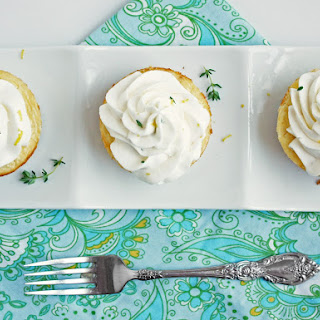 Lemon, Thyme and Chevre Cheesecakes