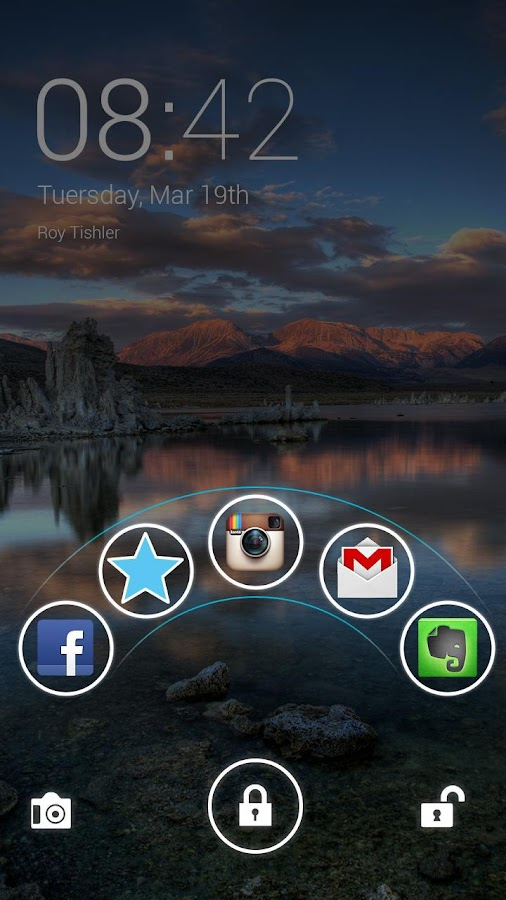 Home Lock Screen - screenshot
