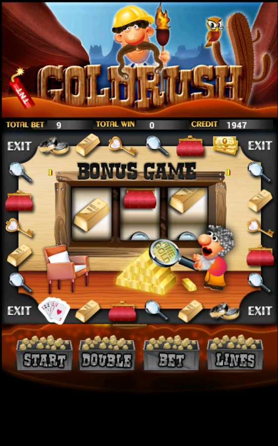 Gold Rush Slot Machine HD - screenshot