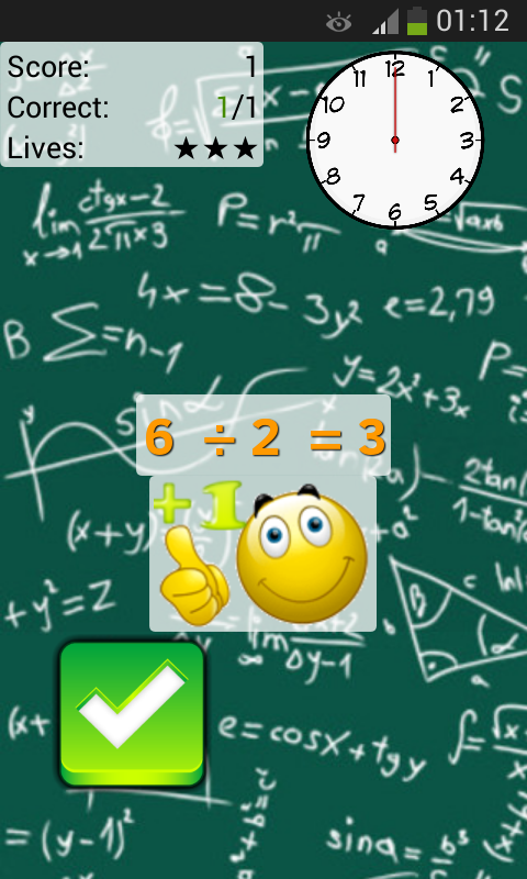 Math Workout - The Challenge- screenshot