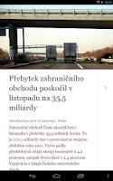 Screenshot of Novinky.cz