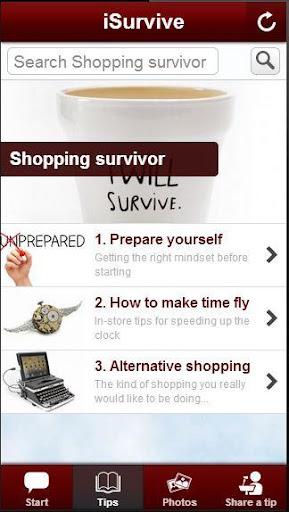 Shopping Survivor
