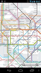 London Tube and Rail Map Free- screenshot thumbnail