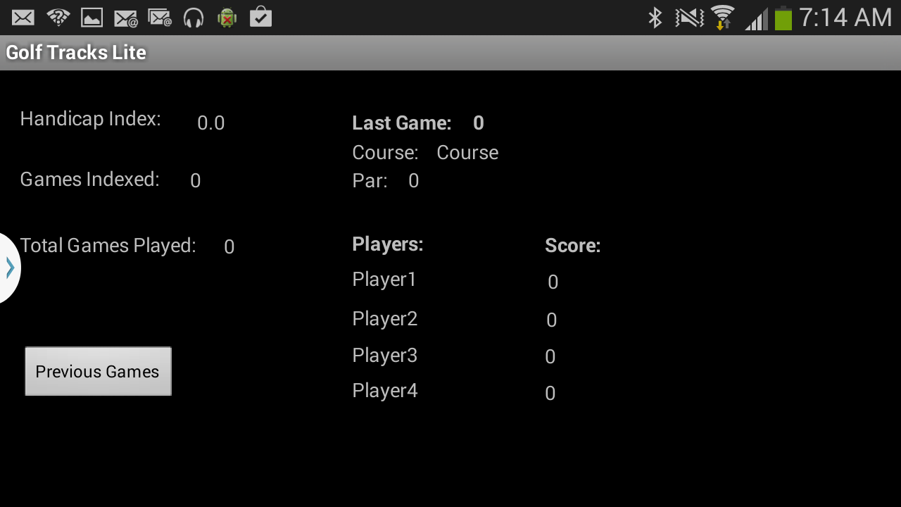 Golf Tracks Pro- screenshot