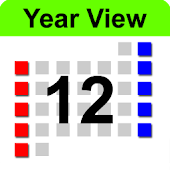 Year View Calendar & Widget
