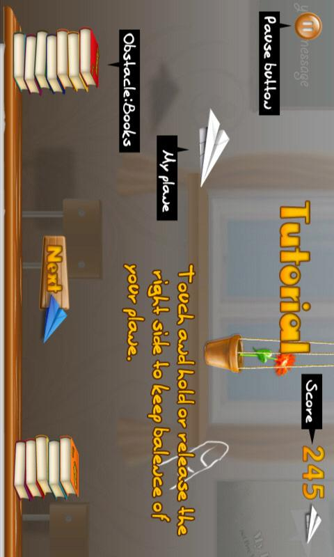 Tap Tap Glider- screenshot