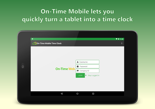 On-Time Web Mobile Time Clock