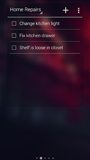 Minimal To-Do List Widget