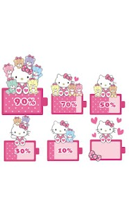 玩免費個人化APP|下載HELLO KITTY Battery Widget1 app不用錢|硬是要APP