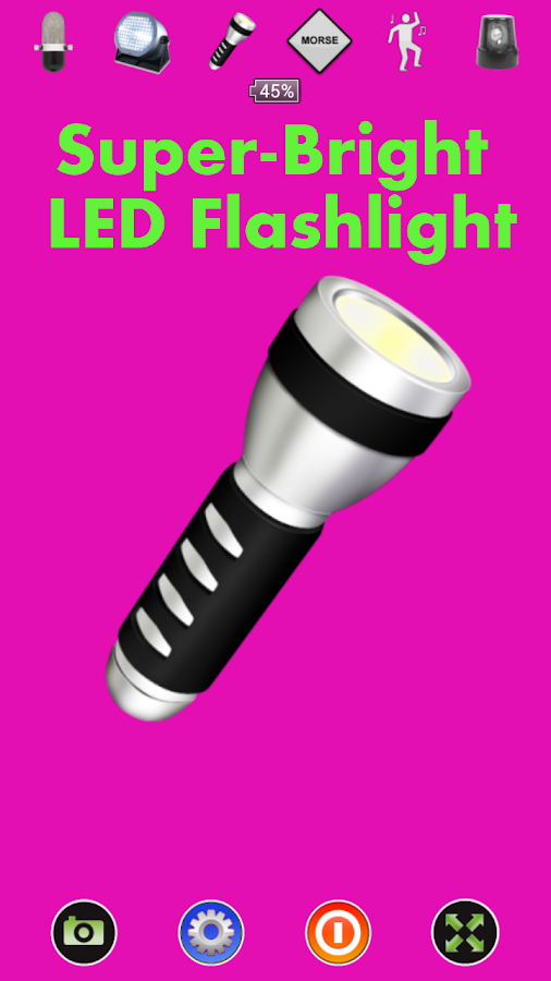 Disco Light™ LED Flashlight- screenshot