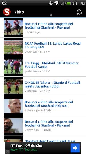 【免費運動App】Stanford Football-APP點子