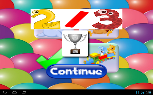 Baby games: BabyClick- screenshot thumbnail
