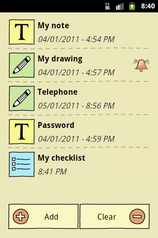 QuickNote Notepad Notes- screenshot