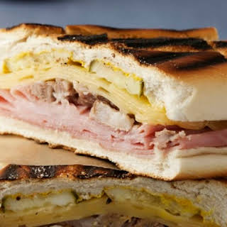 Grilled Cuban Sandwich.